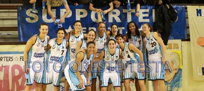 Un'ottima Acqua&Sapone trionfa su Lucca 73-45