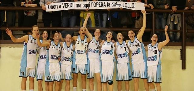 L'Acqua&Sapone vola in semifinale. Battuta in Gara 3 Parma 60-50