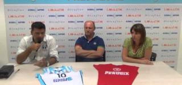 La presentazione dell'accordo di collaborazione tra Pfu, Perugia e Basket Umbertide