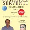 Nuova puntata de La Cena è Serventi, ospiti Lavinia Santucci