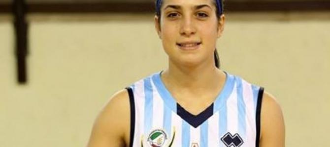 Caterina Dotto in azzurro