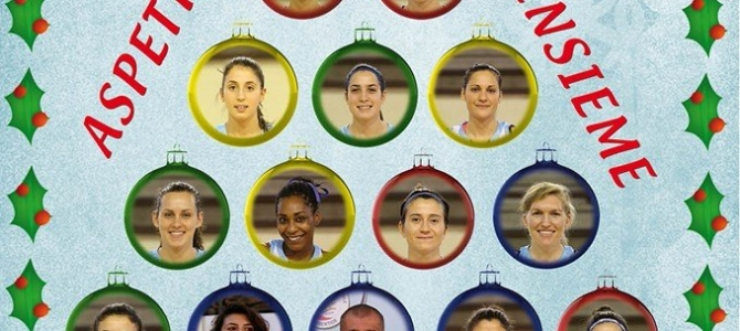 Giovedì 18 dicembre Cena di Natale con la squadra