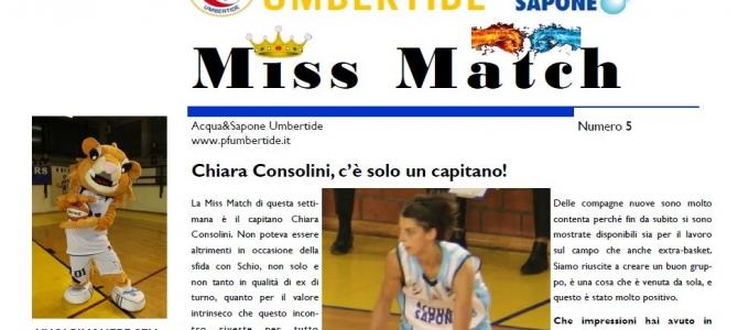 Scarica l'ultimo numero di Miss Match: ospite Chiara Consolini