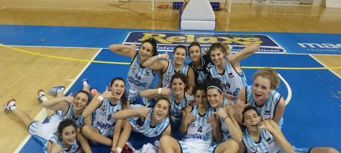Under 19, Acqua&Sapone Umbertide – Adriatica Pescara 59-56