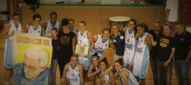 Pallacanestro Femminile Umbertide – Basket Girls Ancona 89-50
