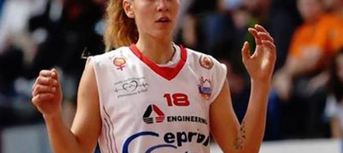 Elisa Mancinelli torna in bianco-azzurro per la stagione 2016-2017