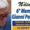"""Sabato 24 settembre al PalaMorandi si terrà il VI Memorial """"Gianni Palazzetti"""""""