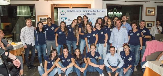 Presentata ufficialmente ai tifosi ed alla città la PF Umbertide 2016/2017