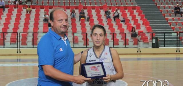 """Trofeo """"Città del Vasto"""": Ilaria Milazzo nominata miglior giocatrice italiana"""