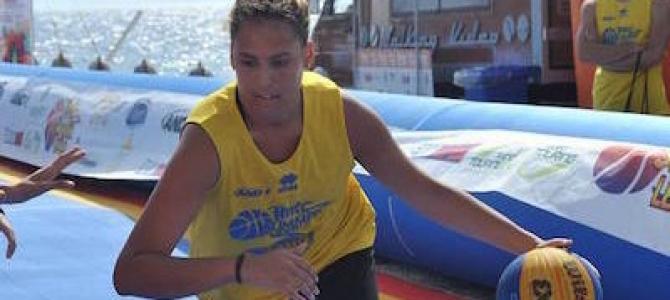 Adriana Cutrupi con la PFU nella stagione 2017/2018