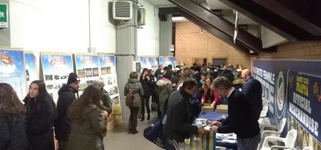 UNA SERATA STORICA, FESTA DI NATALE CON IL BC FRATTA