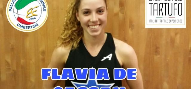 FLAVIA DE CASSAN E' UNA NUOVA GIOCATRICE DELLA PF UMBERTIDE