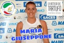 MARIA GIUSEPPONE E' UNA NUOVA GIOCATRICE BIANCO-AZZURRA
