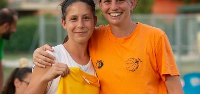 "A CESENATICO IL ""PUNTO E BASKET CAMP"", GIULIA CASSETTA PREMIATA COME ""NEW ENTRY"""