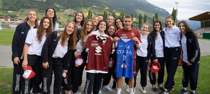 LA NAZIONALE UNDER-20 HA INCONTRATO A BORMIO IL TORINO FC