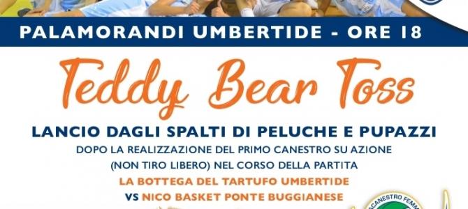 TEDDY BEAR TOSS AL PALA MORANDI